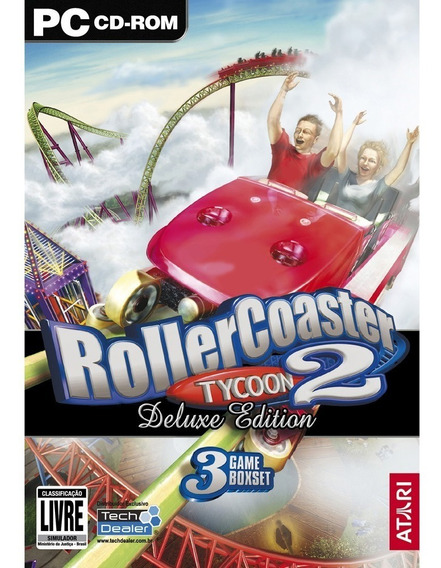 Game Pc Roller Coaster Tycoon 2 Deluxe Edition