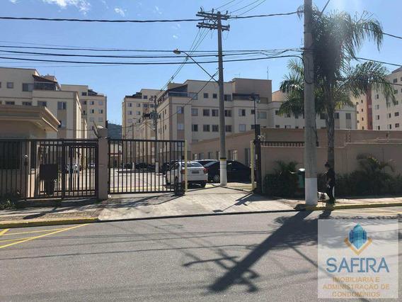 Apartamento Com 3 Dorms, Vila Mogilar, Mogi Das Cruzes - R$ 320.000,00, 64m² - Codigo: 863 - A863