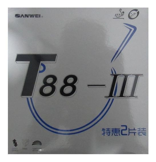2 Borracha De Tênis De Mesa T88 Ill
