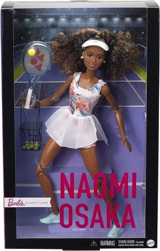 Imagem 1 de 8 de Barbie Signature Naomi Osaka Collector Tenista 2021