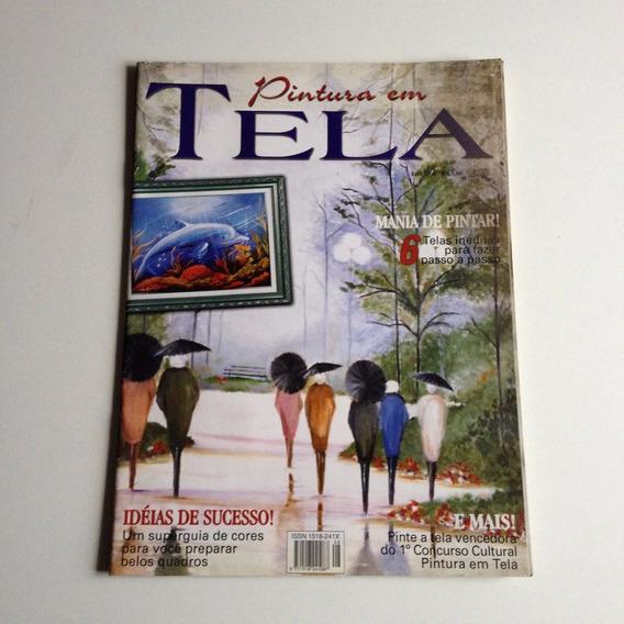 Revista Pintura Em Tela N°08 B650