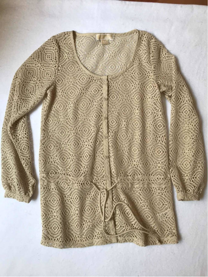 Michael Kors Vestido De Crochet Para Traje De Baño Original
