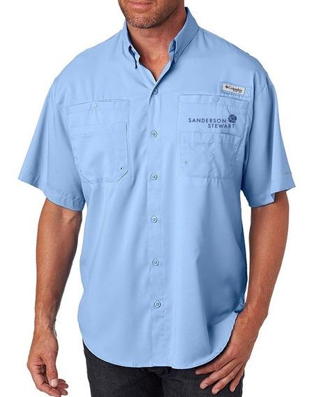 Camisa Hombre Columbia Tamiami Manga Corta