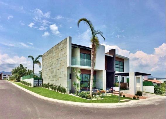 Casa Nueva En Venta En Lomas De Cocoyoc, Morelos