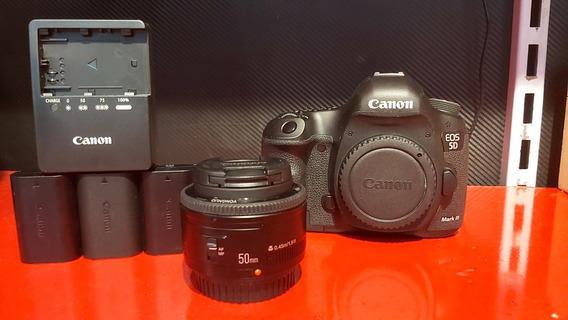 Canon 5d Mk Iii Corpo + 50mm Yongnuo