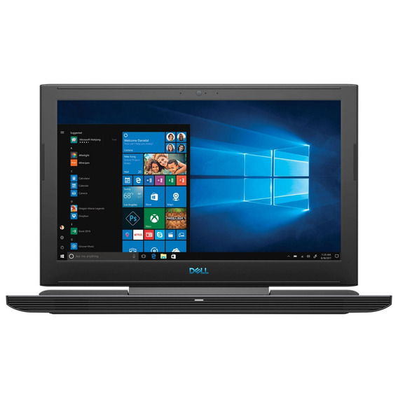 Notebook Dell G7 Gaming I7 32gb 512gb Ssd Vídeo Nvidia Gtx 1060 6gb 15,6 Full Hd Ips Windows 10 Pro