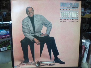 Lp Wonderland Stanley Turrentine - Music Of Stevie Wonder