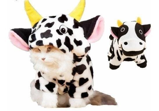Roupa Vaquinha Pet M Alta Qualidade Roupinha Cães Gatos