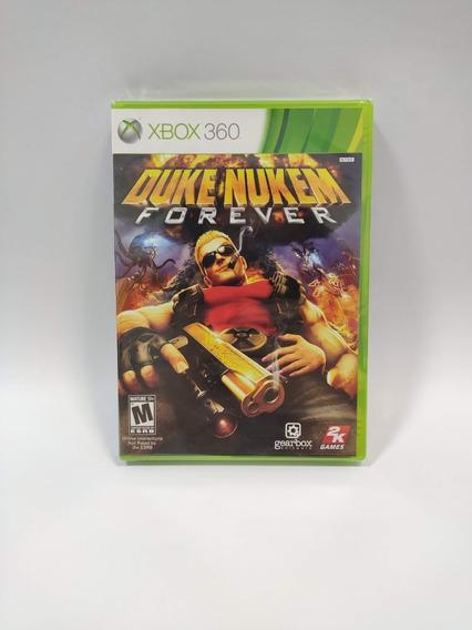 Duke Nukem Forever Xbox 360 Lacrado Midia Fisica