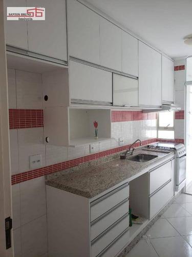 Apartamento À Venda, 55 M² Por R$ 290.000,00 - Limão (zona Norte) - São Paulo/sp - Ap3877