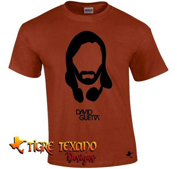 Playera Djs David Guetta Mod. 01 By Tigre Texano Designs