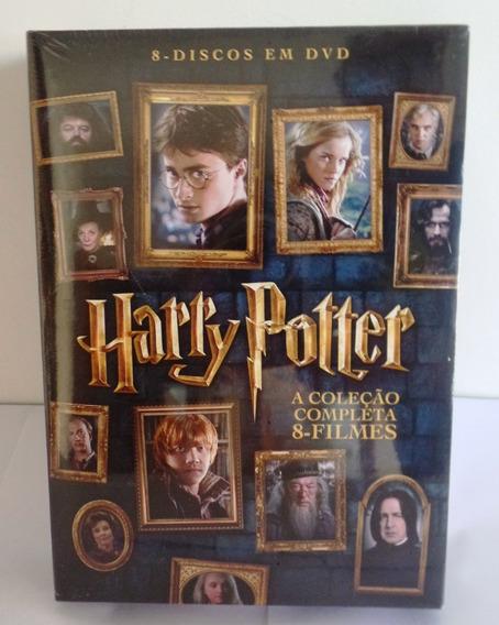Dvd Harry Potter A Coleção Completa 8 Filmes Original Novo