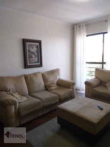 Imagem 1 de 15 de Imob01 - Apartamento 81 M² - Venda - 2 Dormitórios - 1 Suíte - Vila Caminho Do Mar - São  Bernardo Do Campo/sp - Ap1505