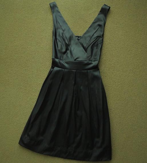 Vestido De Fiesta Negro Talla Chica
