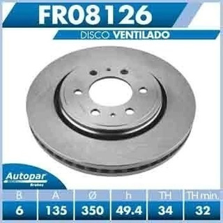 Disco Delantero F150 2013 2014 2015 2016 2017 2018
