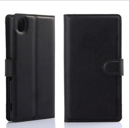 Case Sony Xperia Xa2 Ultra Cuero Negro