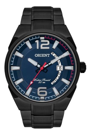 Relógio Orient Masculino Mpss1007 D2gx Grafite Azul Oferta