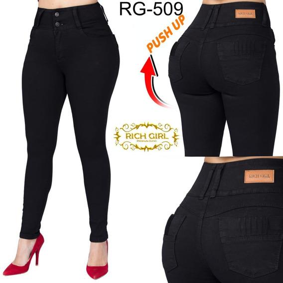 Jeans Rich Girl Modelo 509 Corte Colombiano