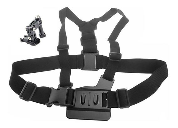Suporte Peitoral Chest Harness - Gopro Hero Sjcam Xiaomi Yi