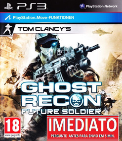 Tom Clancys Ghost Recon Future Soldier Pt Br Ps3 Codigo Psn