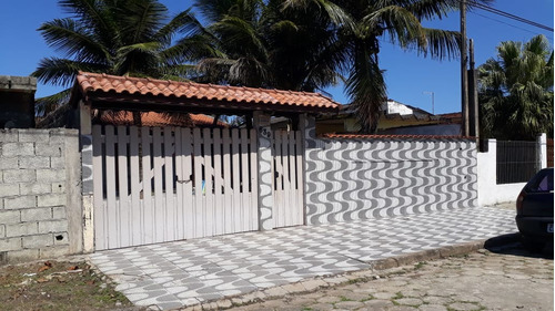 (ref: 4744) Casa Lote Inteiro- Itanhaém/sp - Gaivota
