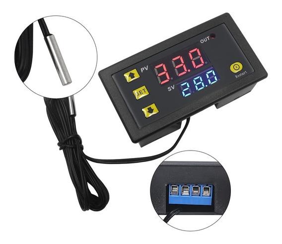 Controlador Temperatura Chocadeira -50°/120° Bivolt C/sensor