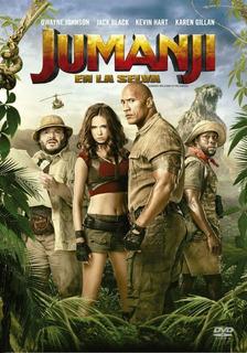 Dvd - Jumanji: En La Selva