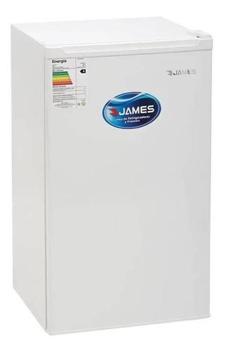 Imagen 1 de 1 de Heladera minibar James JN-90K blanca 91L 220V - 240V