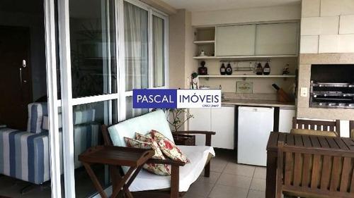 Imagem 1 de 15 de Apartamento Campo Belo 04 Dormits 03 Vagas - V-13590