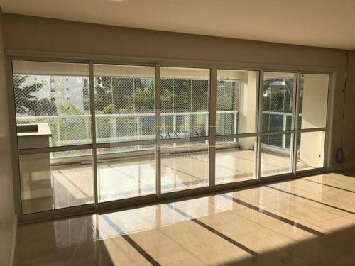 Imagem 1 de 30 de Apartamento, 258 M² - Venda Por R$ 2.500.000,00 Ou Aluguel Por R$ 13.000,00 - Brooklin - São Paulo/sp - Ap0873