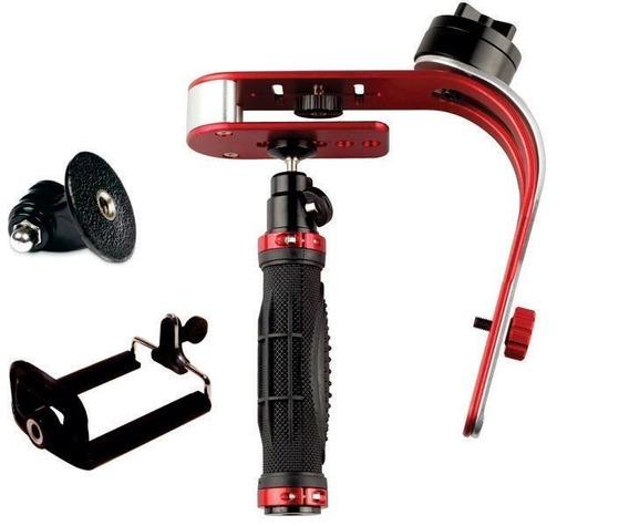 Steadicam Steadycam Stabilizer P/ Celular Câmeras Go Pro Sj