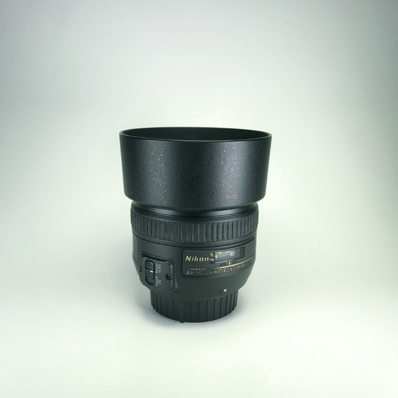 Lente Nikon 50mm F/1.4g Af-s Autofoco + Filtro (b+w)