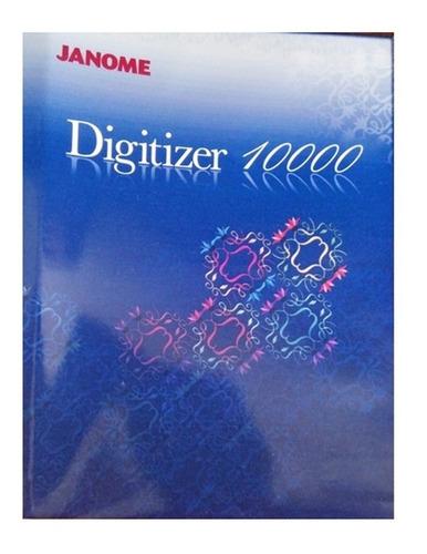 Janome Digitizer 10.000 Win 7/8/10 32/64 Bits+700mil Bordado