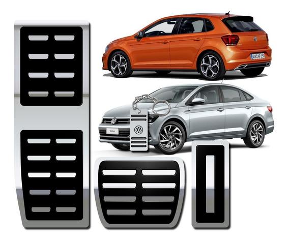Pedaleira E Descanso Alto Relevo Volkswagen Polo E Virtus At