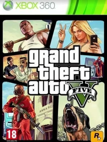 Gta 5 Xbox 360 Midia Digital Não É Conta Compartilhada