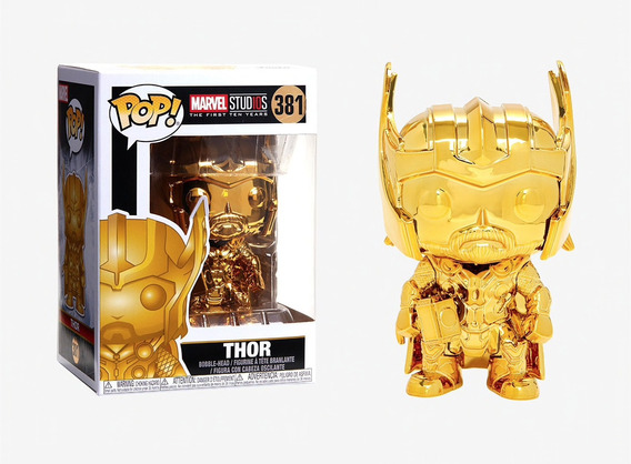 Figura Funko Pop Marvel Ms 10 - Thor 381