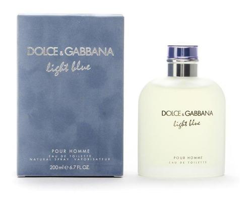 Imagen 1 de 4 de Light Blue 200ml Dolce & Gabbana Men Original Sellado!!!