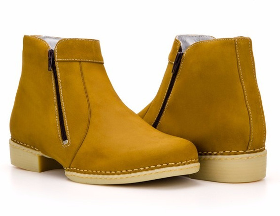 Botina Bota Masculina Country Macia Cano Curto Capelli Boots
