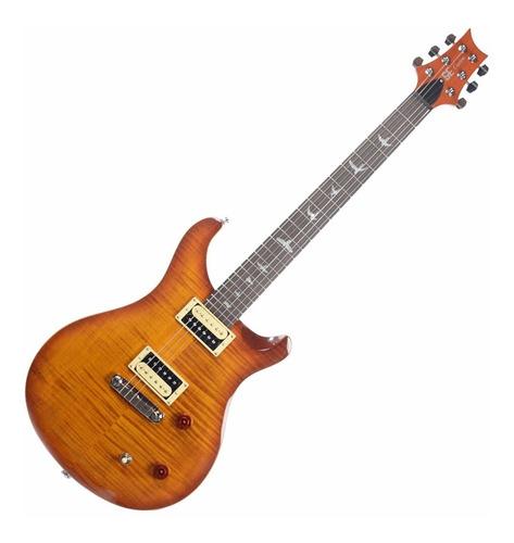 Imagen 1 de 4 de Guitarra Eléctrica Prs Se Custom Vs Con Funda - Korea
