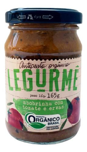 Imagem 1 de 3 de Antepasto Org Abobrinha Com Tomate E Ervas 165g
