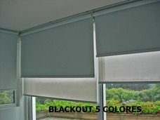 Promoción Cortinas Enrollables, Screen, Blackout Desde 38mil