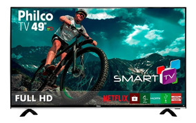 Smart Tv Philco Led 49 Polegadas Com Full Ptv49e68dswn