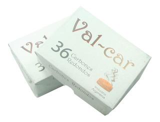 Carbones Vegetales Val-car (caja X36 Unidades)