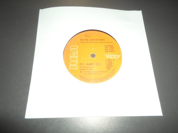 Silver Convention - Fly Robin Fly * Simple Vinilo