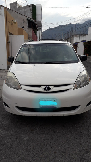 Toyota Sienna 2007 Aa, Aut, Elect, 1 Sólo Dueño