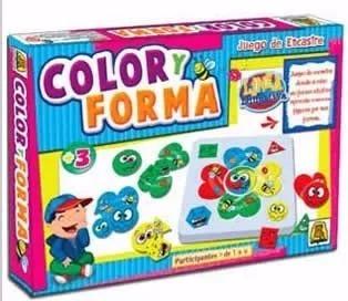 Juego Color Y Forma Implas 419 Cuerpos Didacticos