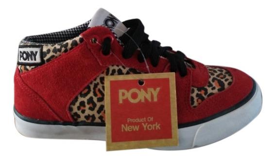 Zapatillas Pony Leopardo Smu. Sólo Productos Originales.