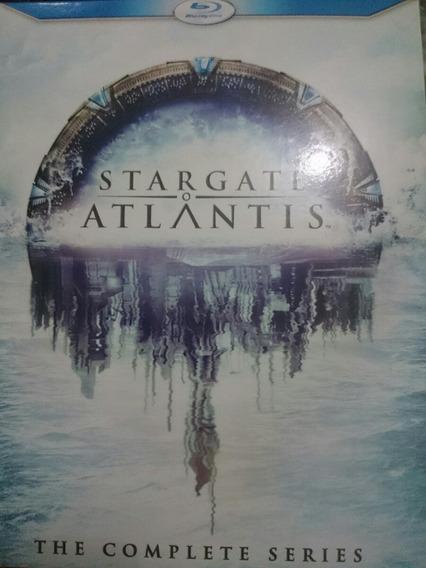 Blu-ray Stargate Atlantis A Série Completa (importado)