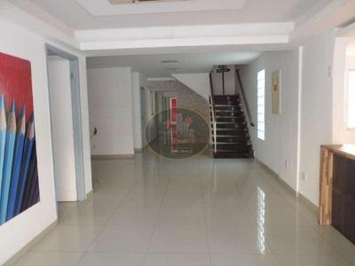 Sobrado Para Alugar, 300 M² Por R$ 12.500/mês - Ponta Da Praia - Santos/sp - So0017
