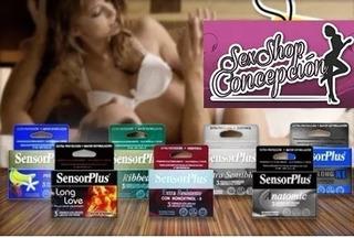 Caja 3 Condones Sensor Plus A Eleccion Sexshop Concepción